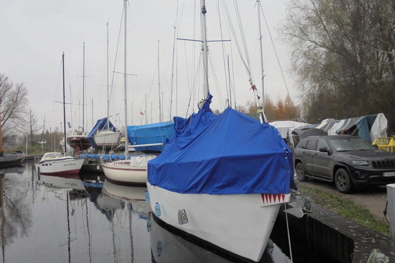 akcesoria żeglarskie - pokrowce na jacht