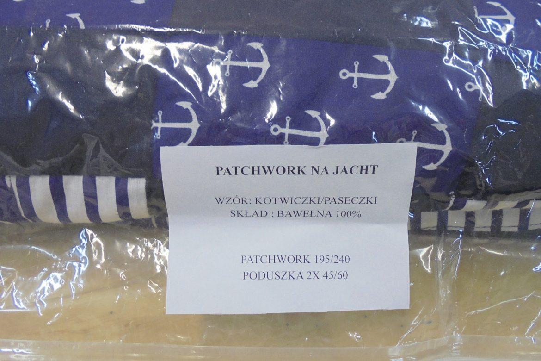 akcesoria żeglarskie - patchwork - jacht